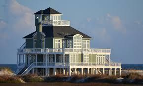 gulf coast beach house exteriors bay house inspiration
