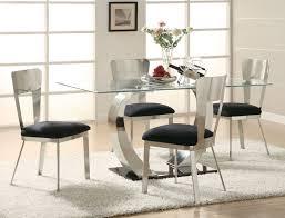modern dining room set dining room luxury modern glass dining room sets tables entrancing