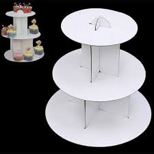 cup cake stands 3 tier mini cupcake stand white cardboard efavormart