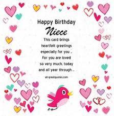 for a favorite niece on her birthday free birthday birthday