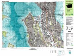 Map Of Seattle Seattle South Topographic Map Wa Usgs Topo Quad 47122e3
