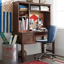 Computer Desk And Hutch Hampton Single Pedestal Desk Pbteen