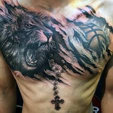 collection of 25 popular ripped skin tiger on chest