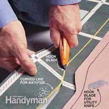 how to install a sheet vinyl floor family handyman