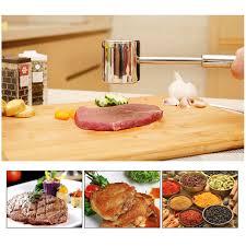 marteau cuisine en acier inoxydable à viande manuel steak marteau cuisine