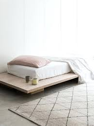 10 easy pieces wood platform bed frames remodelista throughout