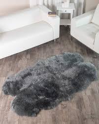 Sheepskin Runner Rug Amazing Round Area Rugs Hearth Rugs As Grey Fur Rug