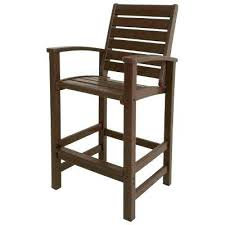 Bar Height Patio Chairs by Bar Top Patio Furniture Sets Signature Mahogany Patio Bar Chair
