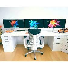 Gaming Setup Desk Desk Computer Desks For Gamers Custom Gaming Computer Desk Plans