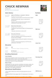 6 academic resume example educationalresume or