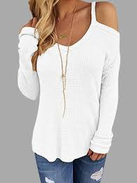 sleeve white blouse womens tops tops tops for yoins