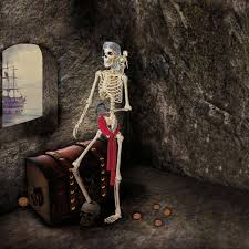 pose n stay pirate skeleton