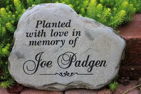 personalized memorial stones engraved rock custom memorial rock cherished