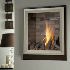 glass contemporary fireplace screens