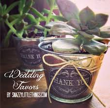 succulent wedding favors diy vintage succulent wedding favors snazzy things
