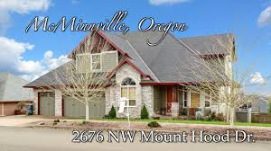 video of 2676 mount hood dr mcminnville oregon real estate