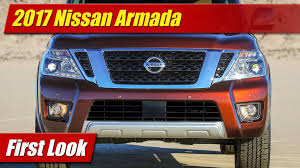 nissan armada body styles 2017 nissan armada first look youtube