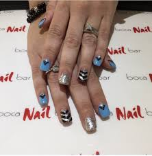 boca nail bar in west boca celebrates grand opening and ribbon