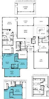 Home Floor Plans One Story 4570 Element Next Gen Az New Homes Pinterest Backyard