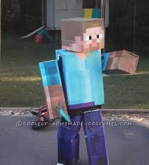 Halloween Costumes Minecraft Cool Diy Cardboard Box Costumes Minecraft Iron Golem