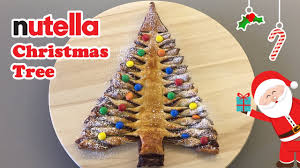 nutella christmas tree cheeky crumbs youtube