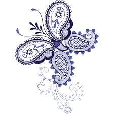 paisley butterflies