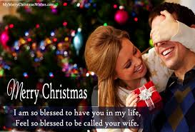 merry wishes for husband