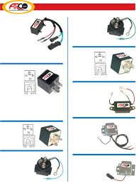 relays u0026 voltage regulators arco marine electrical parts catalog
