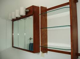 Kitchen Cabinet Glass Shelves Replace A Recessed Medicine Cabinet Shelves Home Decorations