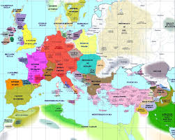 The Map Of Europe by Map Of Europe In 1500 1786x1408 Mapporn