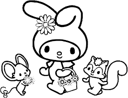 melody coloring pages