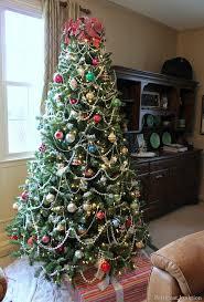 artificial christmas trees multi colored lights christmas tree with colored lights weliketheworld com