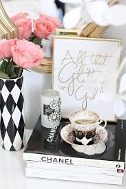 teapartyforone minimalistic decor pinterest black white gold