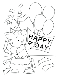 coloring pages for toddlers printable free birthday mom sheets