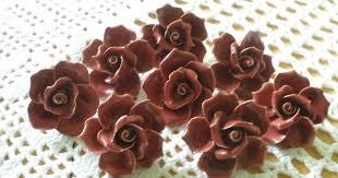 porcelain chandelier roses vintage style porcelain chandelier roses