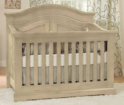 Baby Cache Heritage Lifetime Convertible Crib White by Munire By Heritage Chatham Curved Lifetime Crib
