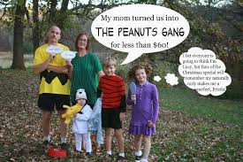 Peanuts Halloween T Shirts Raising Cubs In A Campground Homemade Halloween The Peanuts Gang