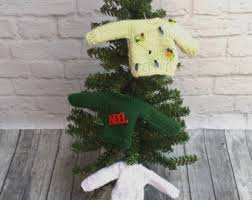 sweater ornaments etsy
