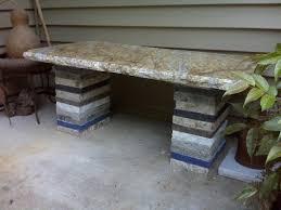 granite bench pavers stone granite recycle hardscape