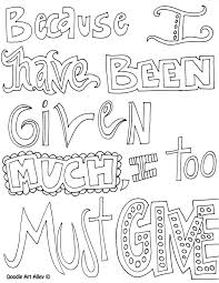 doodle art gambar alley quotes coloring pages coloring