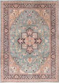 Pink Oriental Rug Vintage Persian Inspired Sarabi Pastel Pink And Blue Large Rug 8 U00273