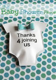 baby shower favor ideas diy baby shower favor