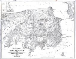 America Map San Francisco by Geopolitical U2013 Map U2013 America U2013 San Francisco Early Vintage