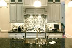 image of backsplash ideas for kitchen with white cabinets