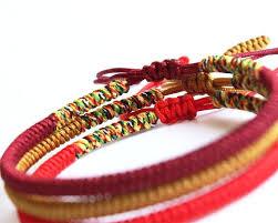 knot rope bracelet images 7 best handmade tibetan buddhist lucky rope images jpg