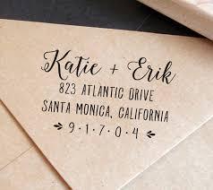 Save The Date Envelopes Custom Address Stamp With Calligraphy Save The Date Envelope