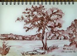 beyond the pen fountain pen ink as watercolor wash goulet pens blog