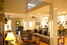 pole barn homes interior pole barn home two story inside view farmhouse to cabin