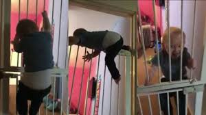 high climbing houdini toddler escapes from bedroom by scaling two