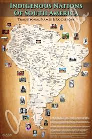 aaron carapella u0027s tribal nations map of south america courtesy